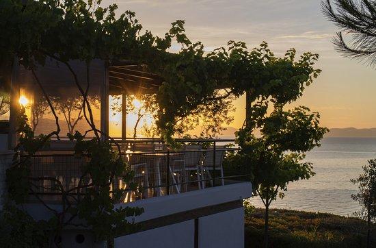 Sea Of Tastes: Wunderschöne Aussicht von der Terrasse
