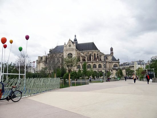 1st Arrondissement: saint Eustache