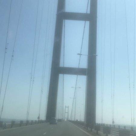 The Humber Bridge ภาพถ่าย