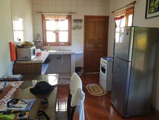 Island Bungalow: Küchenbereich