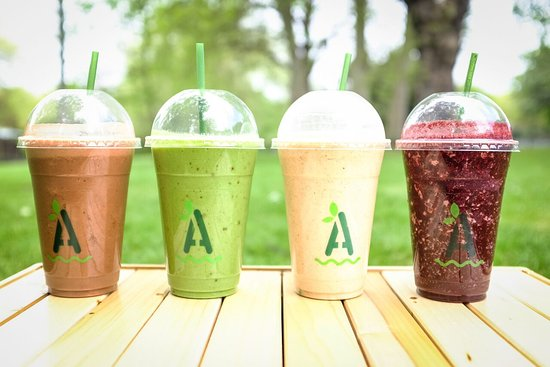 Joe's Coffee: We also do the finest smoothies, using Alchemy Juice Co recipes