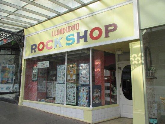 Llandudno Rock Shop
