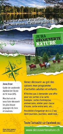 Jura Decouverte Nature: J'organise de A à Z vos demi-journées, journées, week-end....