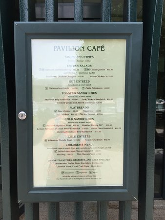 More Salad Selection Than On Actual Menu Picture Of Pavilion Cafe At The Sculpture Garden Washington Dc Tripadvisor