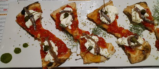 La Brasserie : Pizza romana gourmet