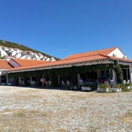 Martinscica, Croatia: Open terrace