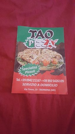 Tao Pizza: Pizza a domicilio