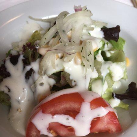 Haan, Tyskland: kleiner Vorspeisensalat