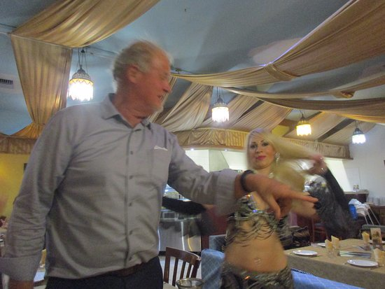 Elie's Tent Lebanese Restaurant Victoria Park Perth: And dancing