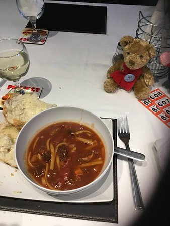 Hot Doggers Cafe : Soup
