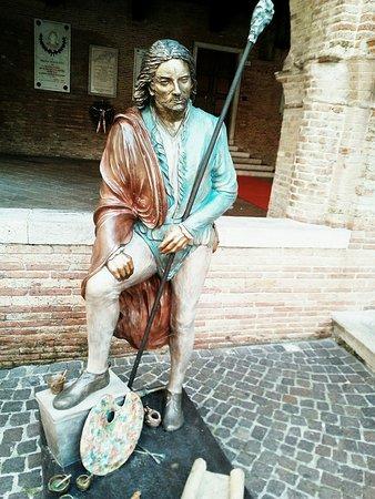 """Statua di Bronzo del """"Pordenone"""""""