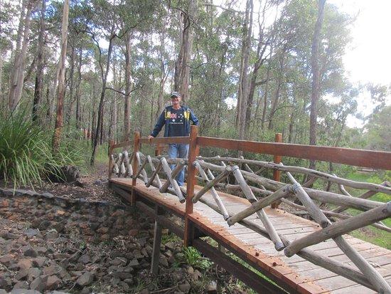 Manjimup Heritage Park: Part of the walkway
