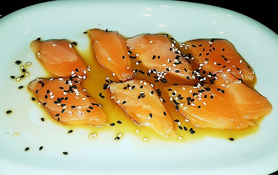Kumo Sushi Bar Take Away : Carpaccio di salmone