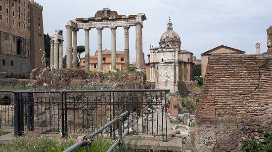 Roman Forum ภาพถ่าย