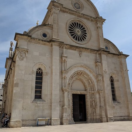The Cathedral of St James in Sibenik Fotografie
