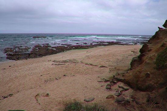 Great Otway National Park, Australia: Last view of the beach