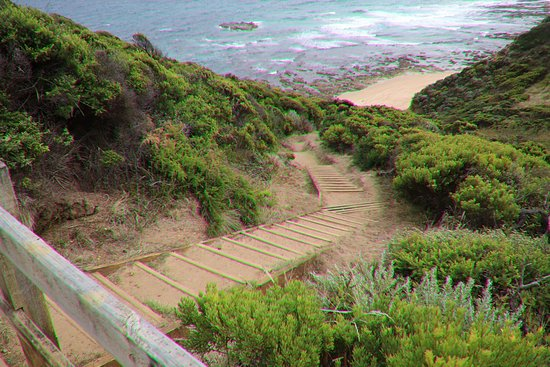 Great Otway National Park, Australia: The stairs