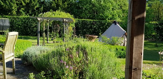 Haslemere, UK: Rest and relaxation in the garden at Cherrimans