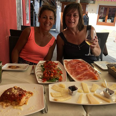 Fantastic - best meal in Venice