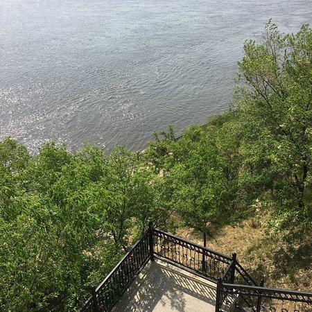 Khabarovsk Cliff张图片