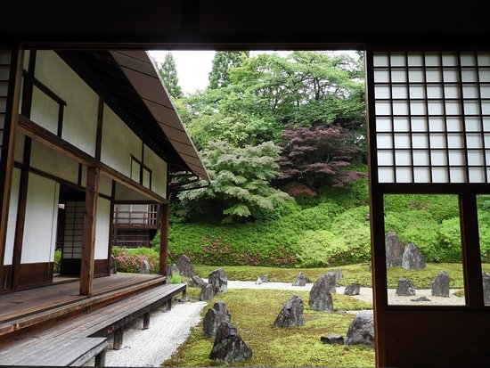 Zen Garden At Buddhist Temple Picture Of Private English Tour In