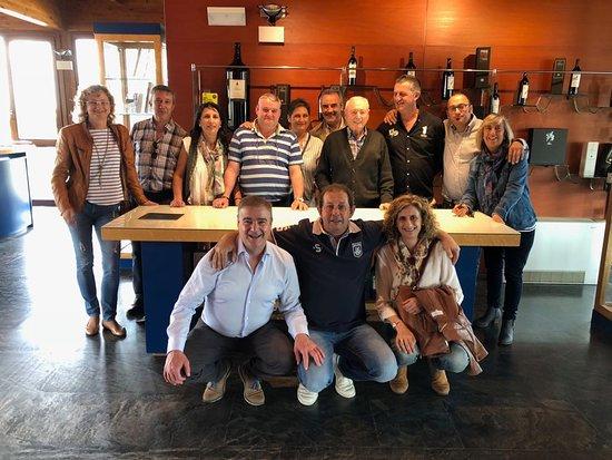 Pedrosa de Duero, Španělsko: La familia Villarroel, con Benjamín, el fundador. Una persona maravillosa
