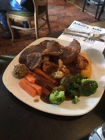 The Highwayman Inn: The beef roast