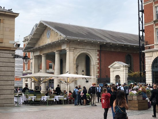 Covent Garden: This is not the St. Paul's you're looking for