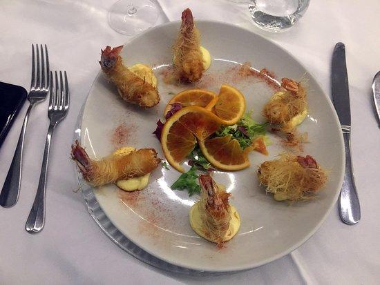 AQUA By Lexus - Fish Restaurant: Polpo croccante e panzanella romana