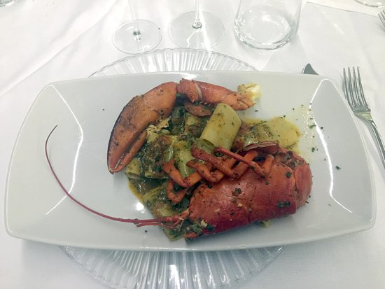 AQUA By Lexus - Fish Restaurant: Gamberi in pasta Kataifi
