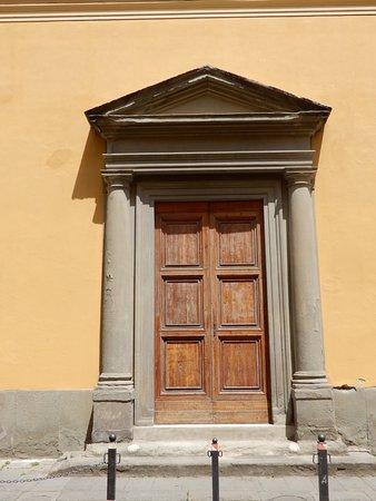 Sinagoga di Pisa: porte