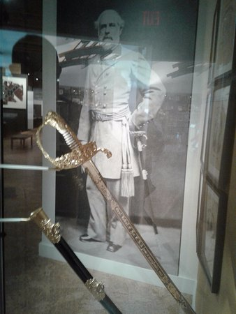 Appomattox, VA: The sword worn by Lee at the surrender signing.