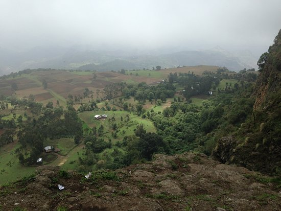 Hike in Ethiopia: Viewpoint Lima Limo