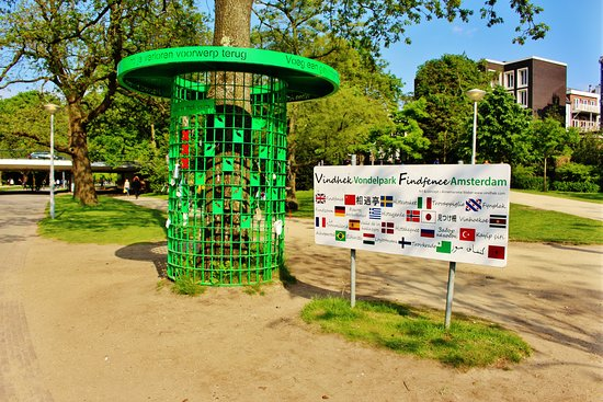 Vondelpark: Welcome