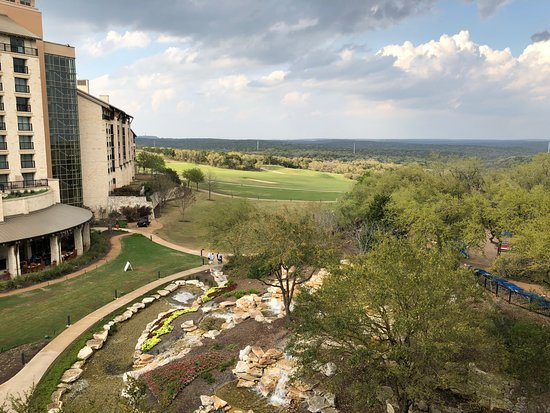 Jw Marriott Hill Country Resort Amp Spa View From Room