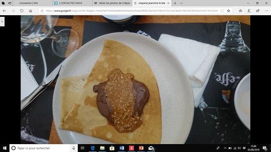 Le Blanc-Mesnil, França: La suprème Nutella