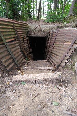 Sanctuary Wood: Tunnel entrance