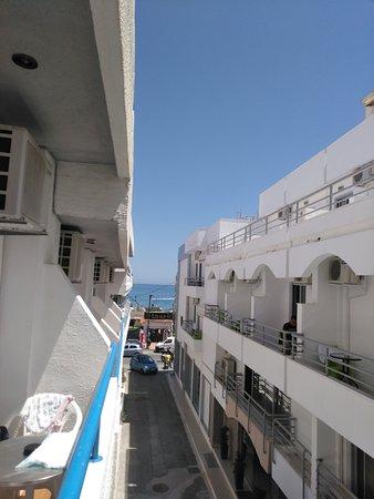 Hotel Iro: view on sea