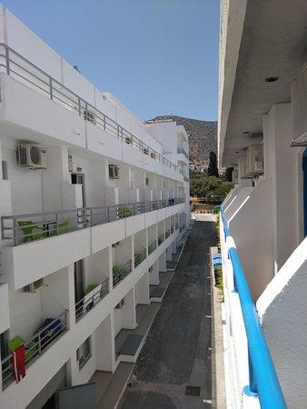 Hotel Iro: view on mountan