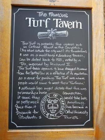 The Turf Tavern: Turf Tavern Oxford