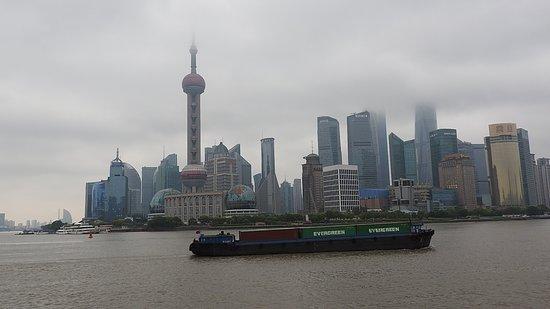 Shanghai Tower: Shanghai Skyline in the fog