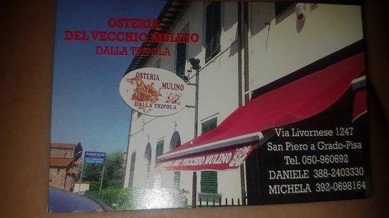 Osteria Del  Vecchio Mulino dalla Tripola-bild