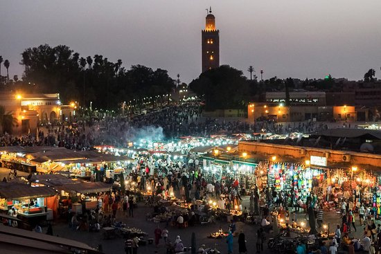 Morocco 1001 Tours: Marrakech, Jemaa el Fna square