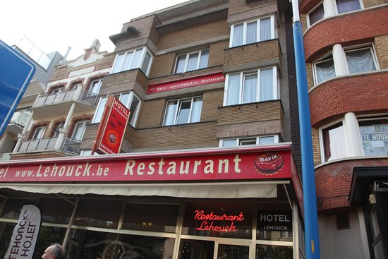 Hotel Lehouck: La devanture de l'hôtel