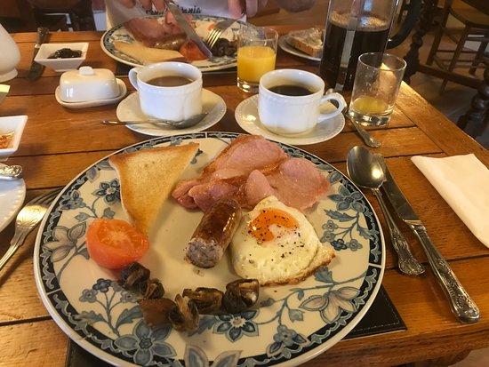 Littlebourne, UK: ontzettend lekker ontbijt