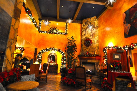 Avila La Fonda Hotel: Seasonal decor