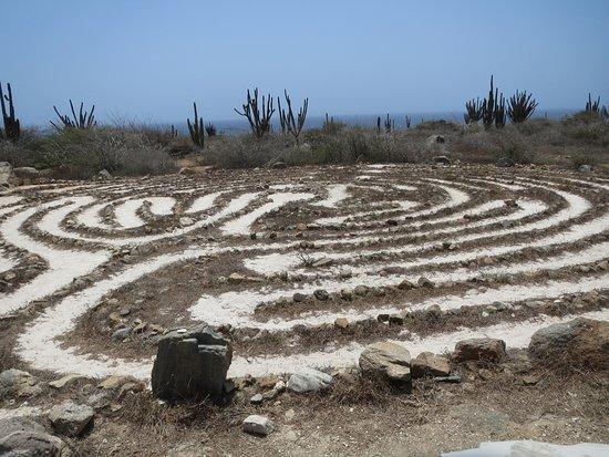 Alto Vista Chapel: labyrint