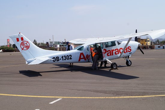 AeroParacas: The plane
