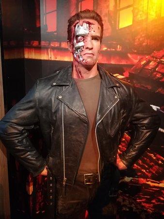 พิพิธภัณฑ์หุ่นขี้ผึ้งมาดามทุซโซ ลอนดอน: The Terminator