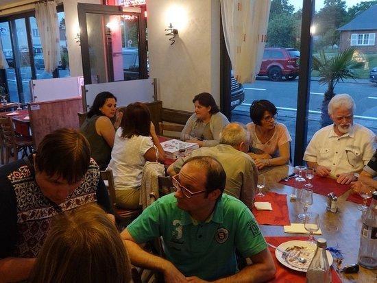 La Giara: Photo de fin de repas
